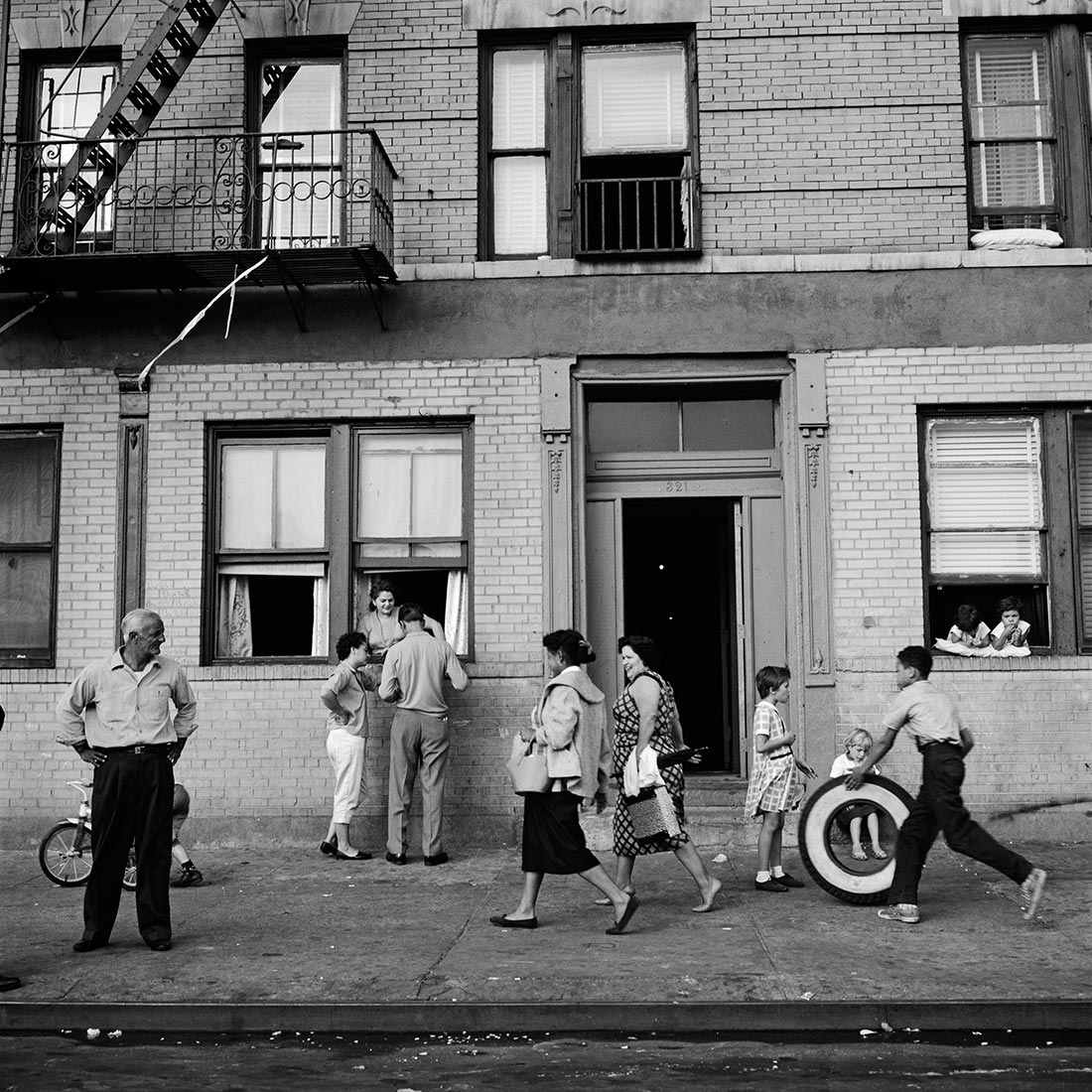 East 108th Street. September 28, 1959, New York, NY